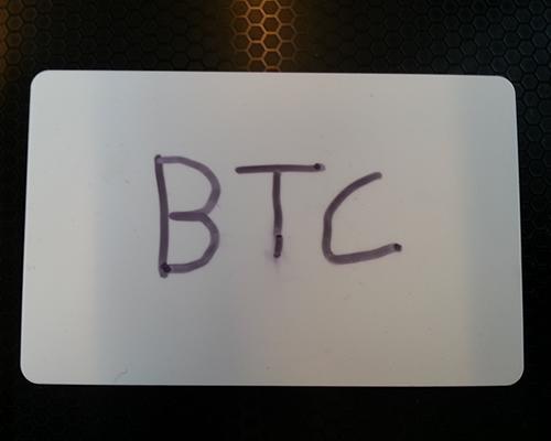 NFC Bitcoin Card