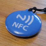 NFC Bitcoin Keychain